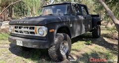 Día Nacional del Auto Antiguo Monterrey 2020 - Dodge Diesiel 4x4 1969