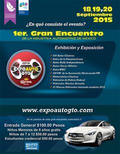 Más información de 1er Gran Encuentro de la Industria Automotriz de México
