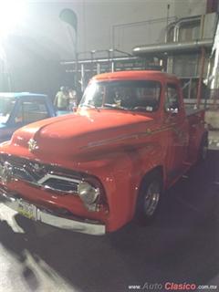 Día Nacional del Auto Antiguo Monterrey 2019 - Ford pickup F100 1954