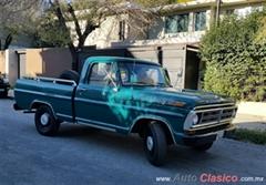 Día Nacional del Auto Antiguo Monterrey 2019 - FORD PICKUP CUSTOM 1972
