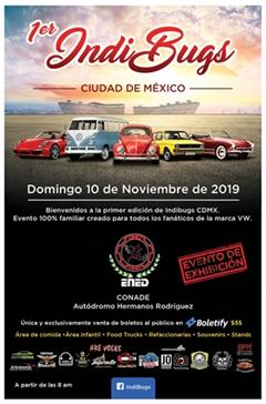1er IndiBugs Ciudad De México
