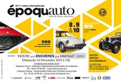 Époqu'Auto 2019 Officiel - 41a Exposición Internacional