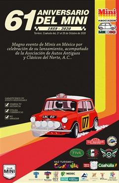 61 Aniversario Del Mini 1959-2020