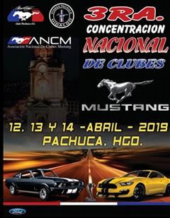 Más información de 3a Concentración Nacional de Clubes Mustang