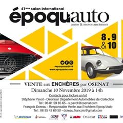 Más información de Époqu'Auto 2019 Officiel - 41a Exposición Internacional