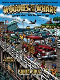 Más información de 25th Annual Woodies on the Wharf