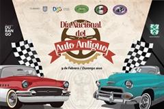 Día Nacional del Auto Antiguo Durango 2020