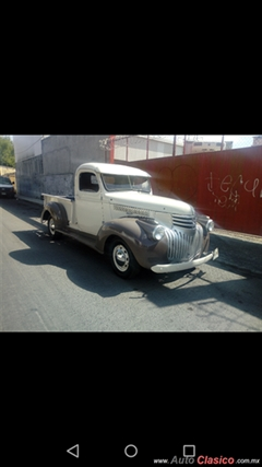 Día Nacional del Auto Antiguo Monterrey 2020 - CHEVROLET PICK UP 1946