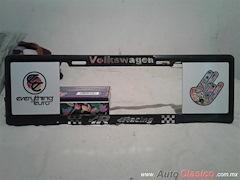 Porta Placa Estilo Europeo Volkswagen Racing 4MP
