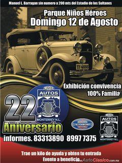 22 Aniversario del Museo de Autos y del Transporte de Monterrey