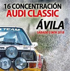 Más información de 16 Concentración Audi Classic Avila