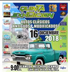 Más información de Quinta Exhibición Autos Clásicos & Modificados San Luis de la Paz