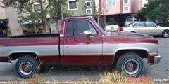 Día Nacional del Auto Antiguo Monterrey 2019 - Chevrolet Silverado 1982