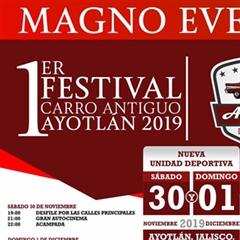 Más información de 1er Festival Carro Antiguo Ayotlan 2019