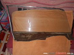 Cristal De Puerta Izquierda Para Mustang 64-66 Con Moldura Y Soporte De Elevador