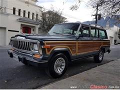 Día Nacional del Auto Antiguo Monterrey 2019 - VAM GRAND WAGONNER 1986