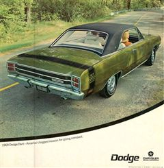 1969 Dodge DART GTS Hardtop
