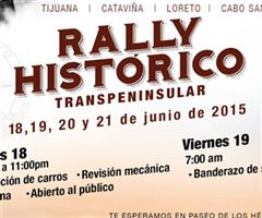 Más información de Rally Histórico Transpeninsular 2015