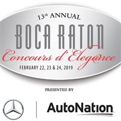 Más información de 13th annual Boca Raton Concours d'Elegance