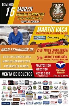 IV Expo Sobre Ruedas La Piedad