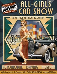 All-Girls Car Show & Vintage Fashion Exchange 2020