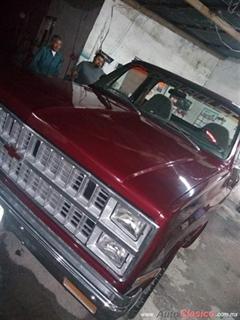 Día Nacional del Auto Antiguo Monterrey 2020 - Chevrolet Cheyenne 1982