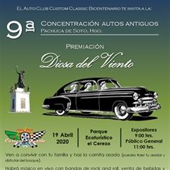 Más información de 9a Concentración Autos Antiguos Pachuca de Soto, Hgo