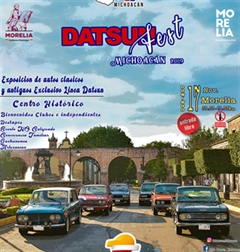 Más información de Datsun Fest Michoacan 2019
