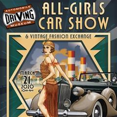 Más información de All-Girls Car Show & Vintage Fashion Exchange 2020