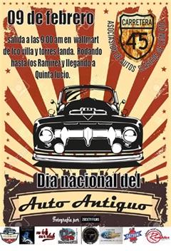 Día Nacional del Automóvil Antiguo León Guanajuato 2020