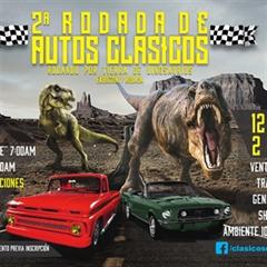 Más información de 2a Rodada de Autos Clásicos Rodando por Tierra de Dinosaurios