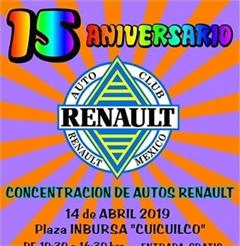 Más información de 15 Aniversario Auto Club Renault México