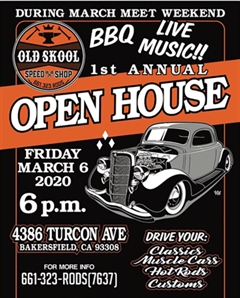 1st Annual Old Skool Open House