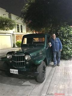 Día Nacional del Auto Antiguo Monterrey 2019 - Willys Pickup 1953
