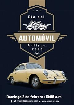 Día del Automóvil Antiguo Ciudad de México 2020