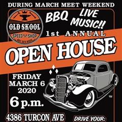 Más información de 1st Annual Old Skool Open House