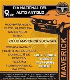 Día Nacional del Automóvil Antiguo Yucatán 2020