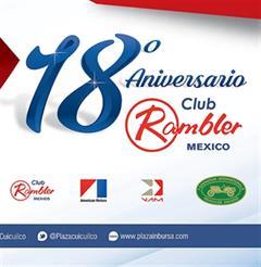 Más información de 18 Aniversario Club Rambler México