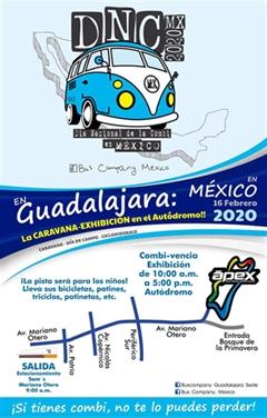 Día Nacional de la Combi Guadalajara 2020