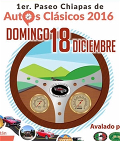 Más información de Paseo Chiapas de Autos Clásicos 2016