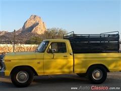 Día Nacional del Auto Antiguo Monterrey 2019 - Ford F100 1975