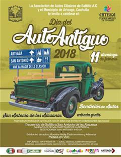 Día Nacional del Auto Antiguo Saltillo 2018