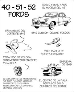 Shoebox Fords 1949, 1950, 1951