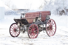 El Híbrido 1896 Phaeton Armstrong a Gasolina y Eléctrico