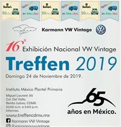 Más información de 16a Exhibición Nacional VW Vintage Treffen 2019