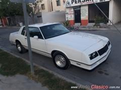Día Nacional del Auto Antiguo Monterrey 2020 - Chevrolet Montecarlo ss 1984