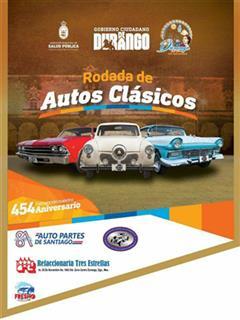 Rodada de Autos Clásicos Durango 2017