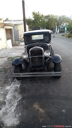 Día Nacional del Auto Antiguo Monterrey 2020 - Ford Pick up Ford A 1930
