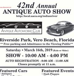 Más información de 42nd Annual Antique Automobile Show