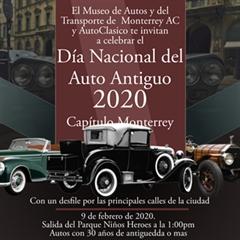 Más información de Día Nacional del Auto Antiguo Monterrey 2020